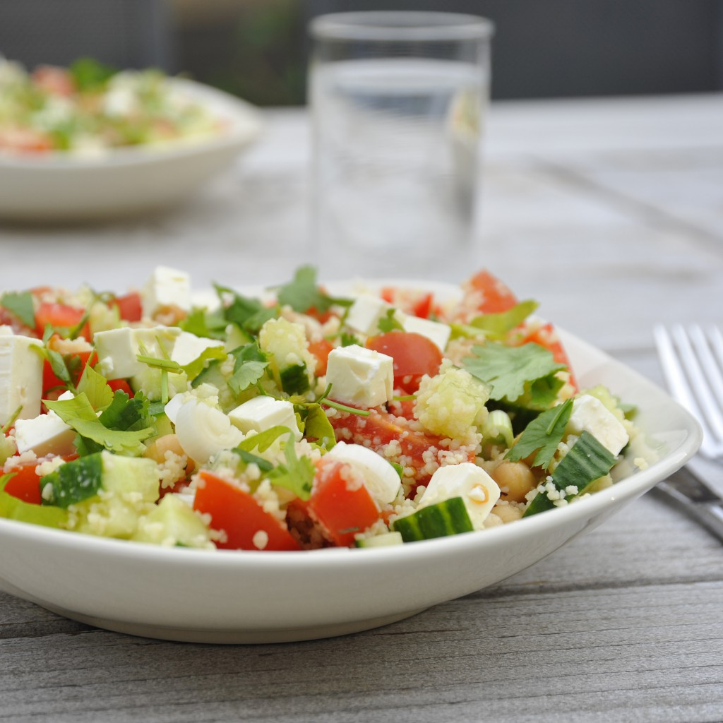 Zomerse couscous salade