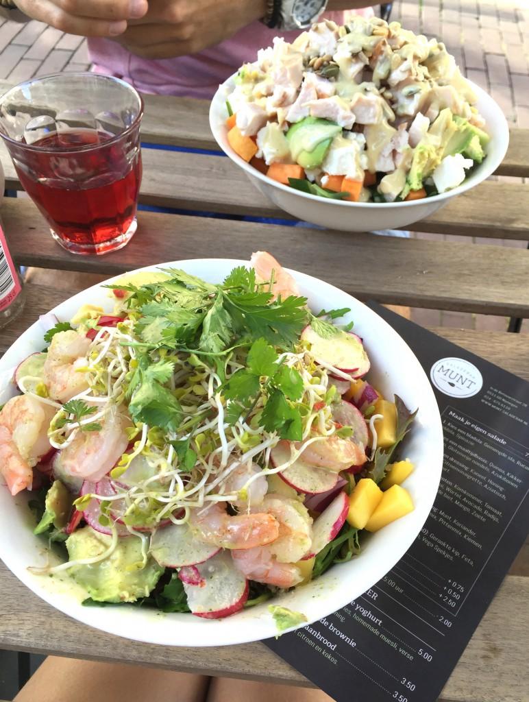 Saladebar MUNT