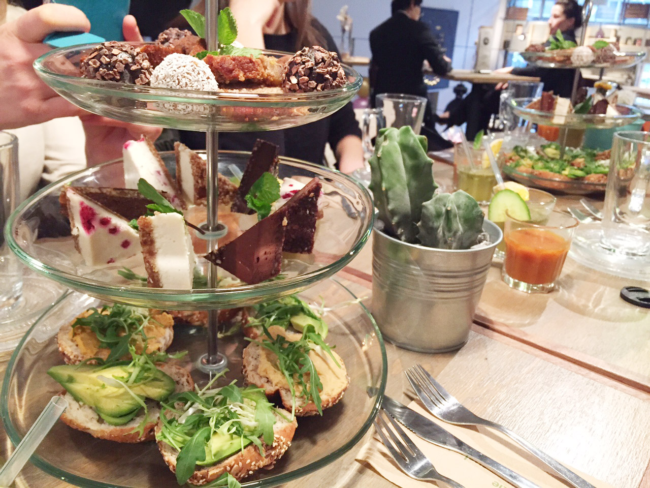 Healthy RAW High Tea