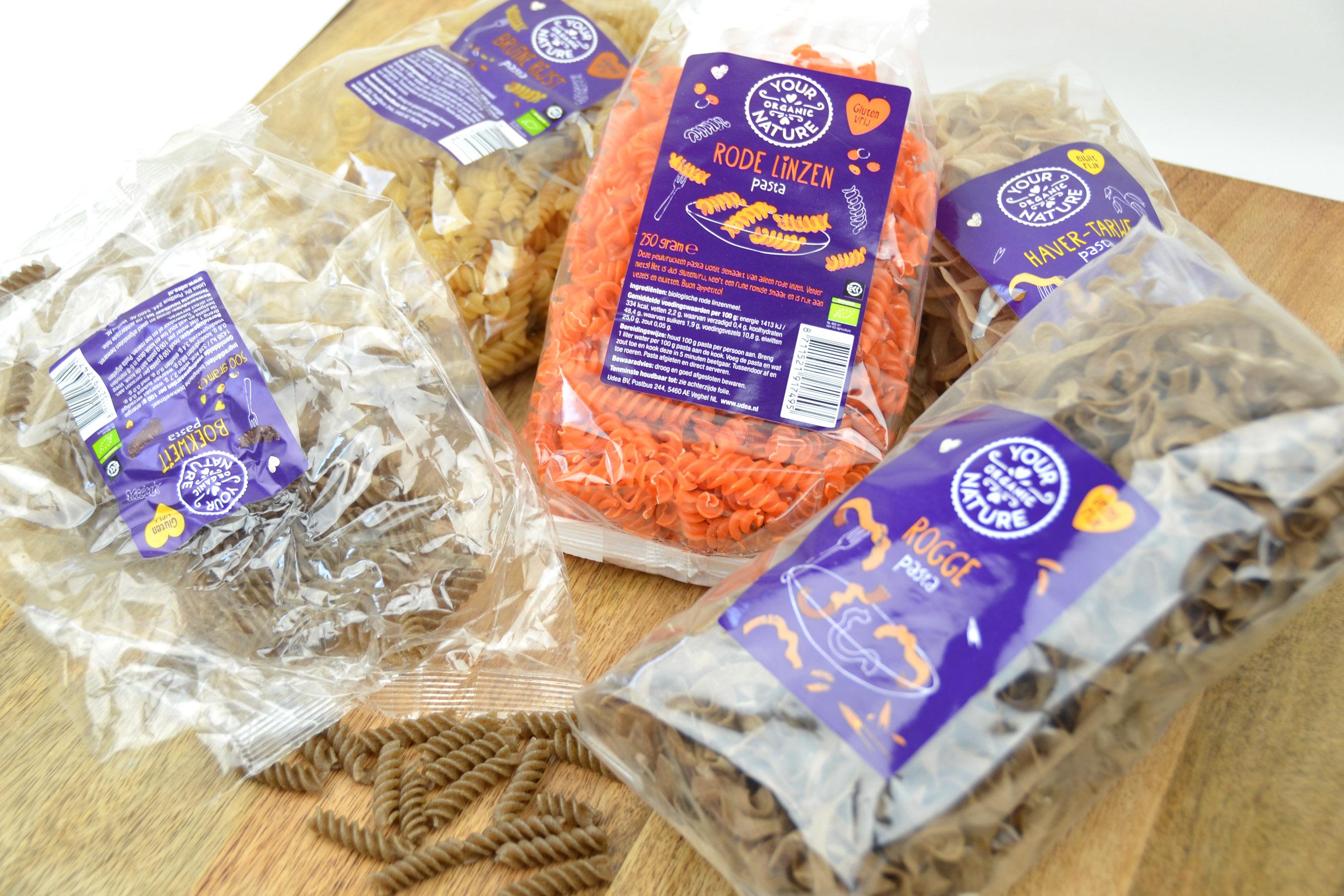 Your organic nature pasta
