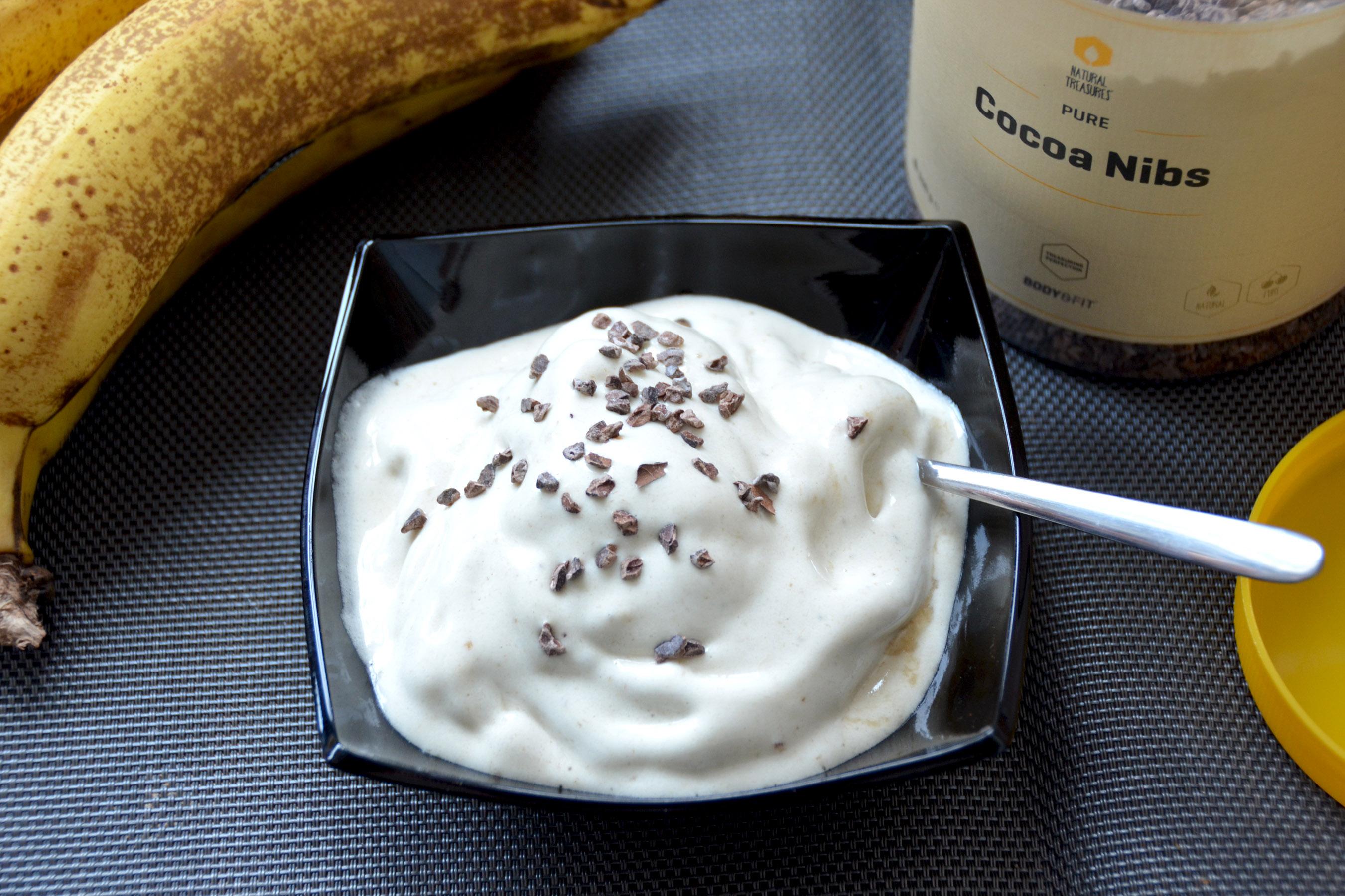 gezond bananenijs maken