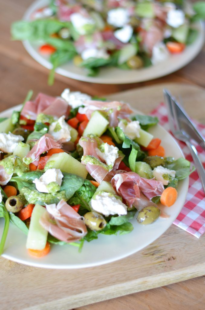 lekkere zomerse salade