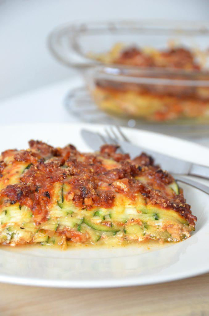 courgette lasagne ricotta