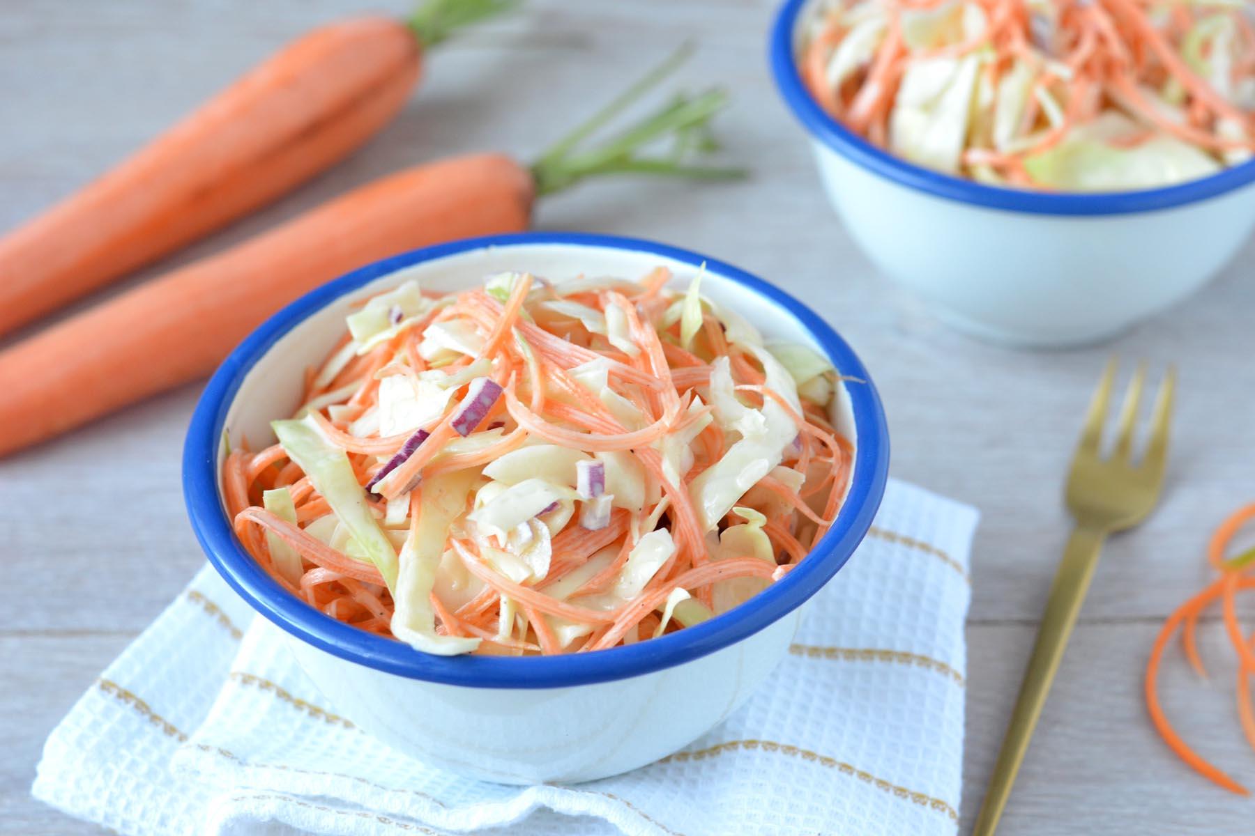 Zelf gezonde coleslaw maken