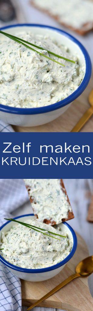 Zelf kruidenkaas maken is veel gezonder en zó lekker!!!
