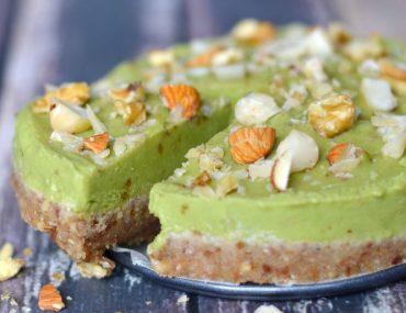 Limoen Avocado Taart