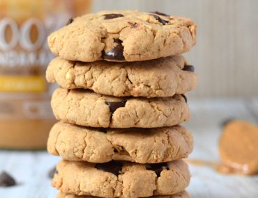 vegan eiwitrijke pindakaas koekjes