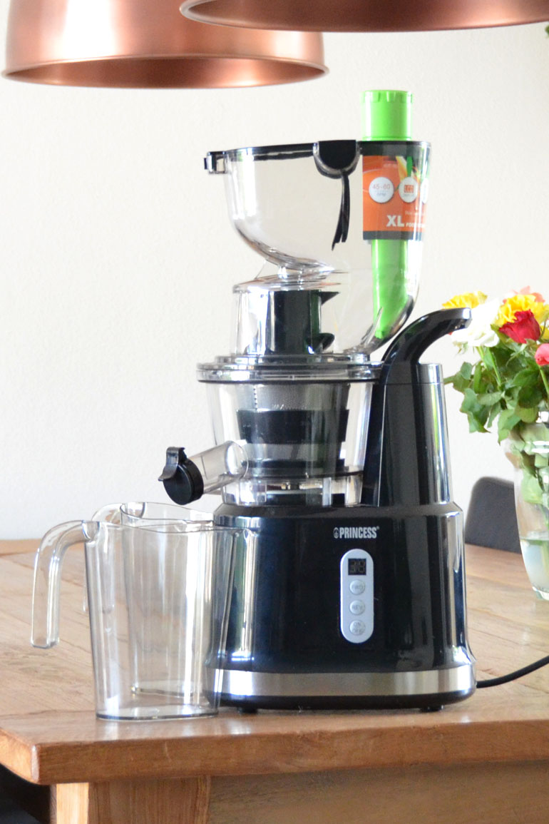 Princess Slowjuicer Test : Princess Slowjuicer Review & Winactie - HealthiNut