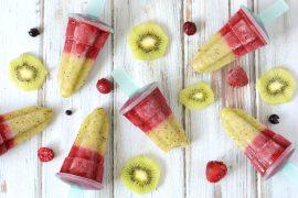 Zelf ijsjes maken van fruit