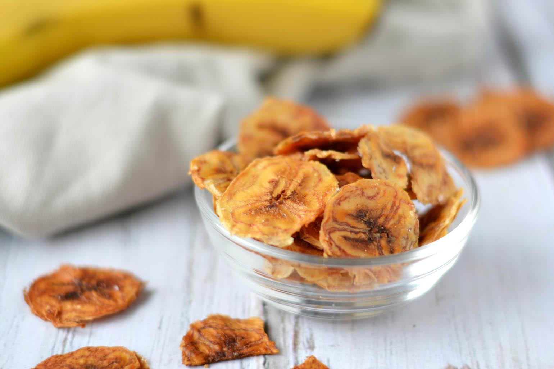 zoete airfryer recepten bananenchips