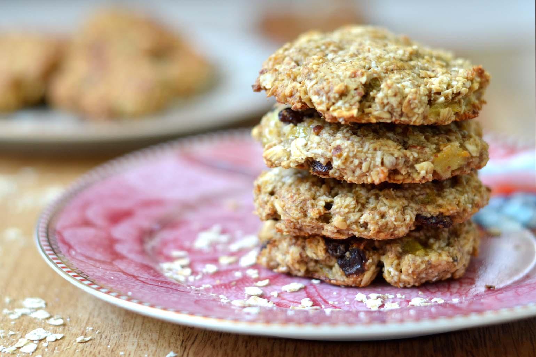 zoete airfryer recepten havermout koekjes