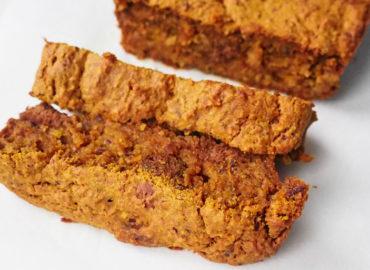 Gezonde pepernoten cake met pompoen