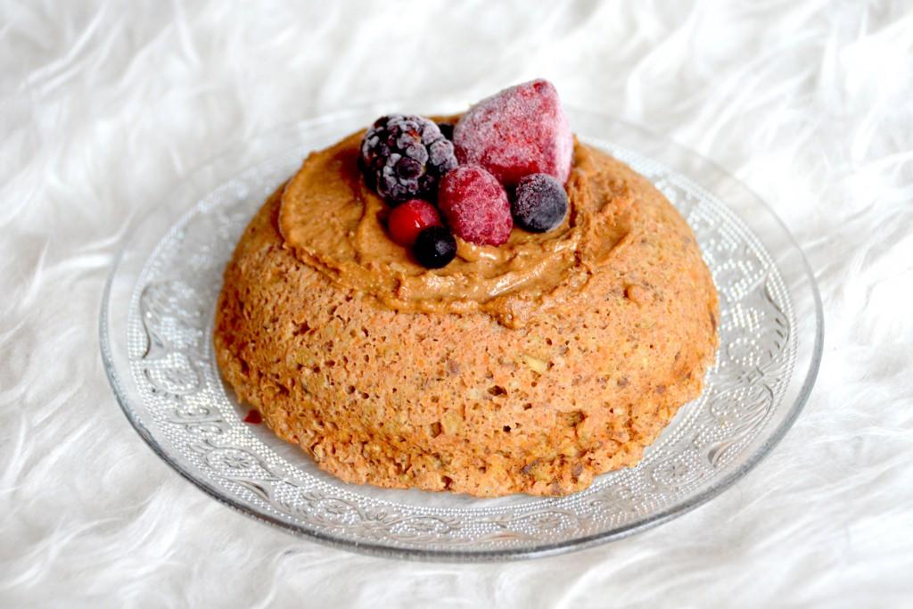 Wortel mug cake