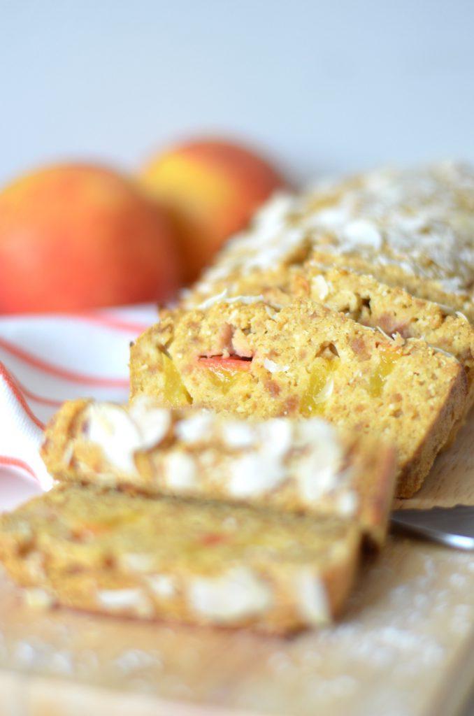 nectarine cake met kokos