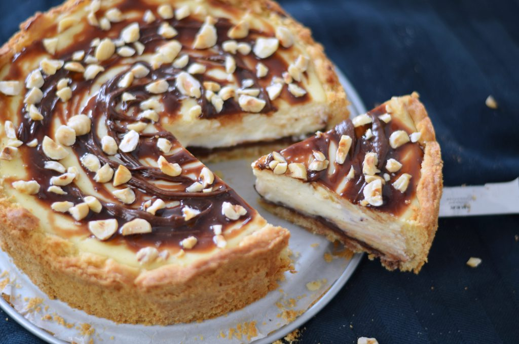 ricotta nutella cheesecake recept
