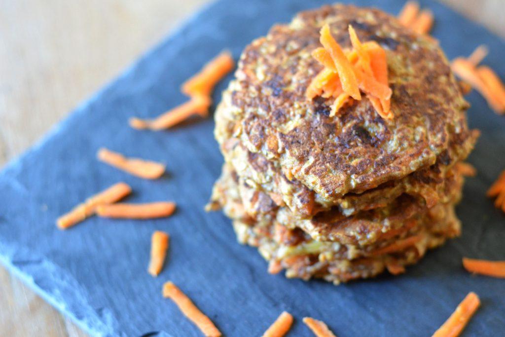 wortel pannenkoekjes