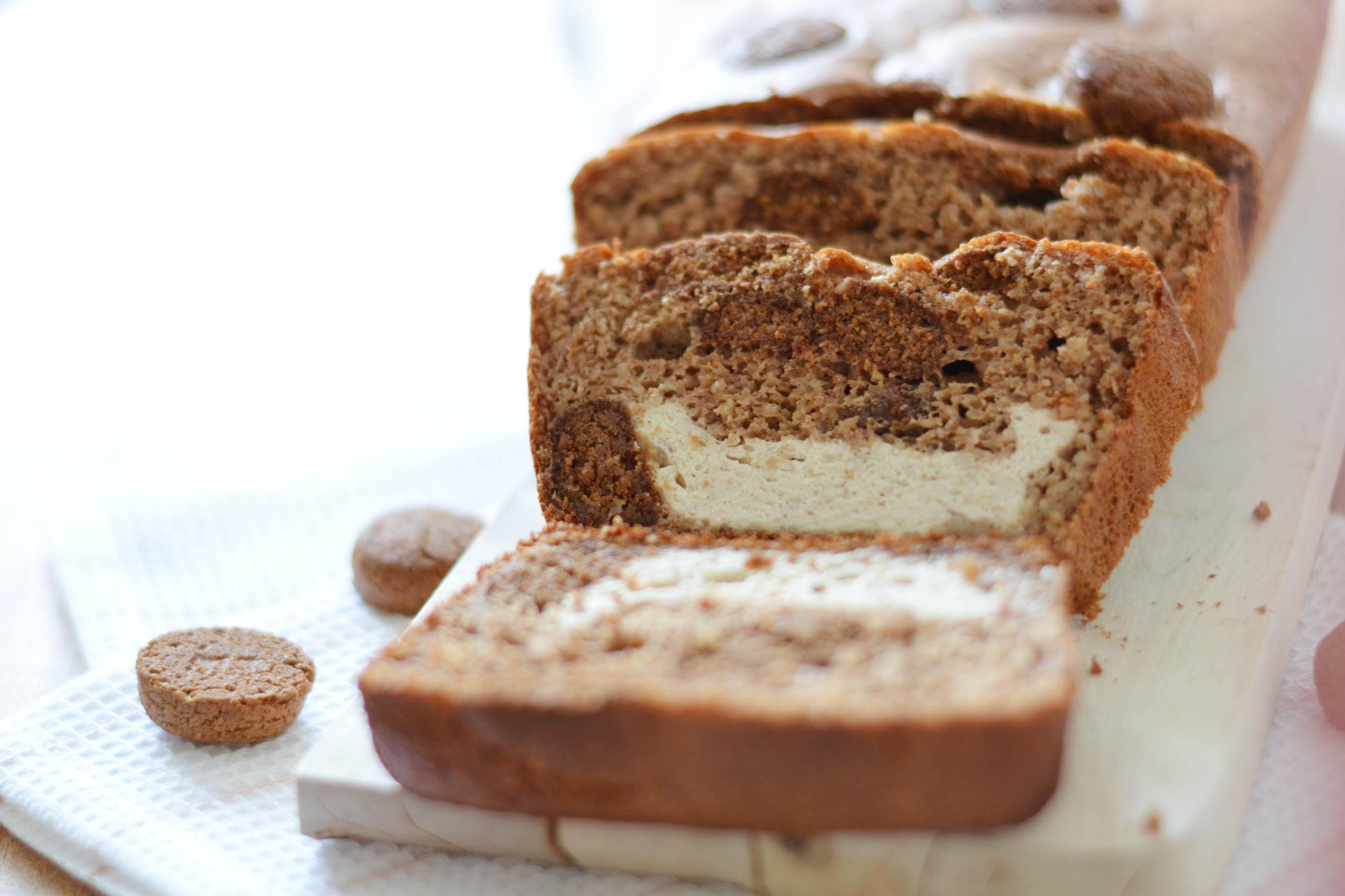 Cheesecake kruidnoten bananenbrood