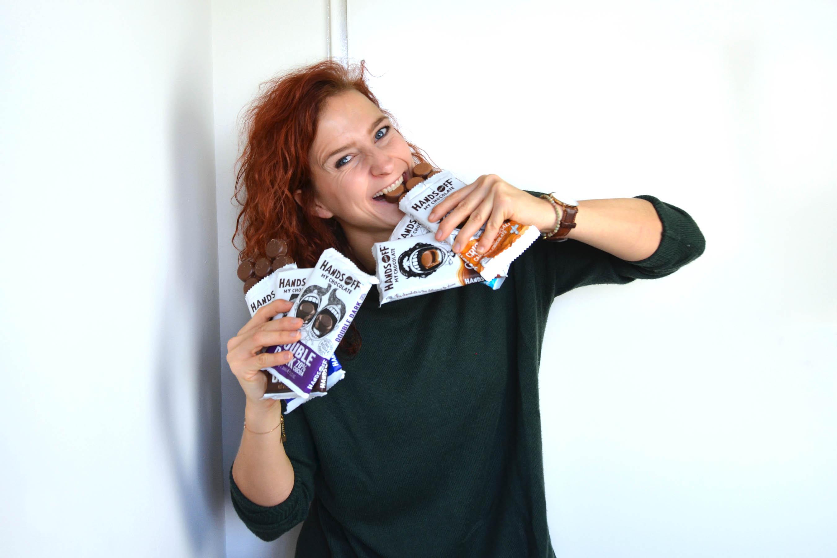 Hands off my chocolate winactie