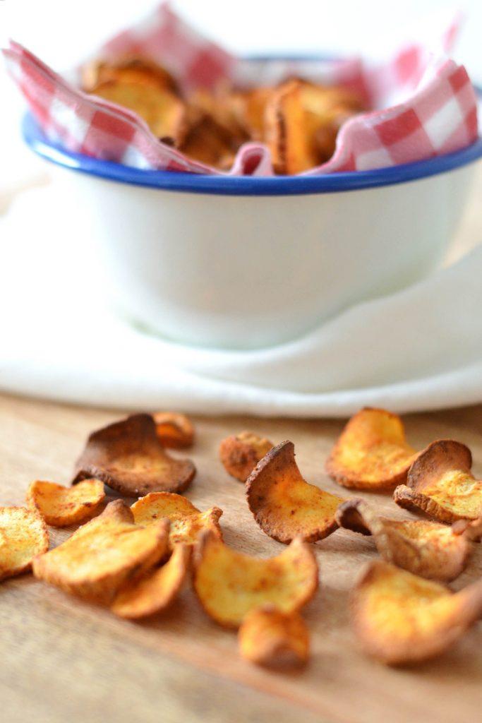 pastinaak chips maken