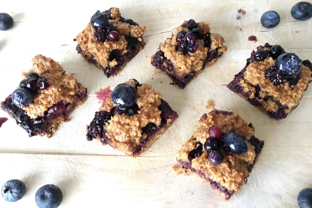 blueberry crumble recept
