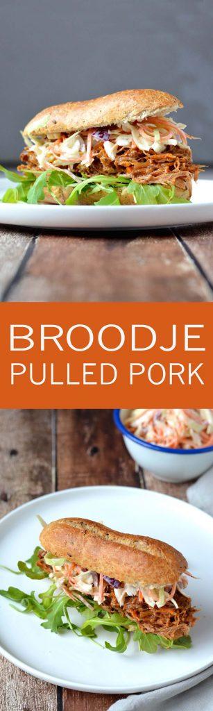 Een broodje pulled pork zelf maken is super makkelijk en zo lekker!