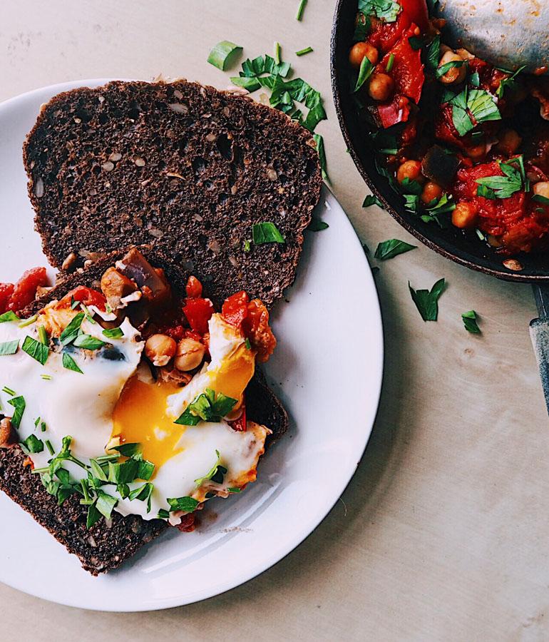 Shakshuka ontbijt recept