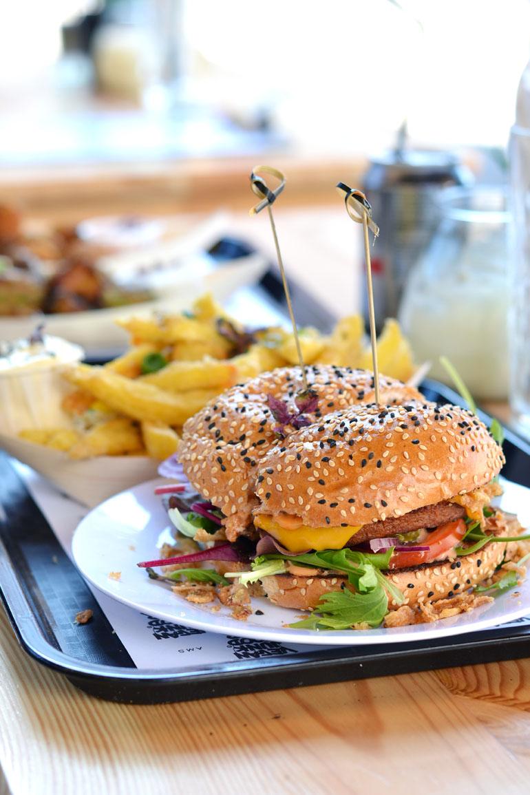 Vegan Junk Food Bar Vegan Hotspot in Amsterdam